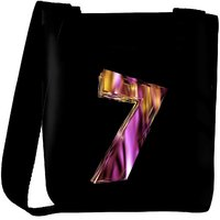 Snoogg Flaming 3D Letter Designer Protective Back Case Cover For Oneplus 3 Designer Womens Carry Around Cross Body Tote Handbag Sling Bags RPC-4426-SLTOBAG