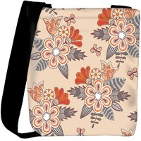 Snoogg Abstract Floral Background Designer Protective Back Case Cover For Oneplus 3 Designer Womens Carry Around Cross Body Tote Handbag Sling Bags RPC-3732-SLTOBAG