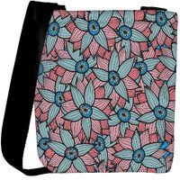 Snoogg Abstract Floral Background Designer Womens Carry Around Cross Body Tote Handbag Sling Bags RPC-3735-SLTOBAG