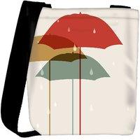 Snoogg Abstract Rainy Season Background Designer Protective Back Case Cover For Oneplus 3 Designer Womens Carry Around Cross Body Tote Handbag Sling Bags RPC-3784-SLTOBAG