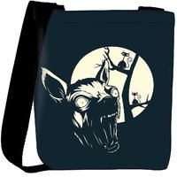 Snoogg Funny T Shirt Design With Angry Chihuahua Designer Protective Back Case Cover For Oneplus 3 Designer Womens Carry Around Cross Body Tote Handbag Sling Bags RPC-4510-SLTOBAG