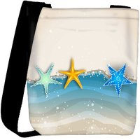 Snoogg Abstract Summer Background Designer Protective Back Case Cover For Oneplus 3 Designer Womens Carry Around Cross Body Tote Handbag Sling Bags RPC-3813-SLTOBAG