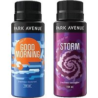 Park Avenue Storm And Good Morning Deodorant Spray - For Men (150ml)