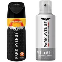 Park Avenue Voyage And Good Morning Deodorant Spray - For Men (150ml)