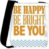 Snoogg Be Happy 2761 Designer Womens Carry Around Cross Body Tote Handbag Sling Bags RPC-2761-SLTOBAG
