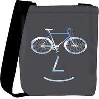 Snoogg Public Bike Poster 2923 Designer Womens Carry Around Cross Body Tote Handbag Sling Bags RPC-2923-SLTOBAG