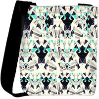 Snoogg Diamond Abstract Pattern Designer Protective Back Case Cover For Oneplus 3 Designer Womens Carry Around Cross Body Tote Handbag Sling Bags RPC-3017-SLTOBAG