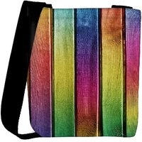 Snoogg Colourful Woods Designer Protective Back Case Cover For Oneplus 3 Designer Womens Carry Around Cross Body Tote Handbag Sling Bags RPC-3269-SLTOBAG