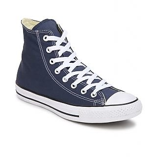 Converse Mens High Top Blue Canvas Sneakers