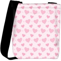 Snoogg Loving Heart Designer Womens Carry Around Cross Body Tote Handbag Sling Bags RPC-10283-SLTOBAG