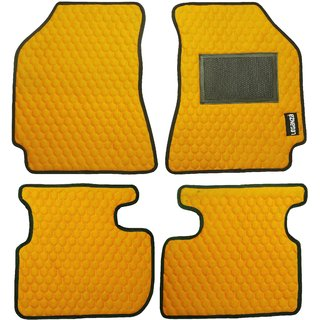 Leganza Yellow Custommade Premium Luxury Car Floormats For