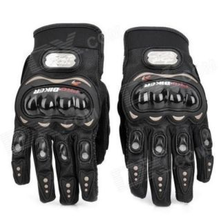 Pro bike Gloves - Bike / Motorcycle / Cycle Riding Gloves Biker Gloves Black XL