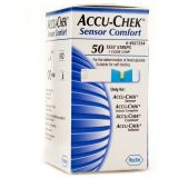 50 Test Strips for Accu-Chek Sensor Comfort Blood Glucose Monitor System Glucose Meter