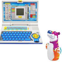 Children Combo English Learner Laptop And Intex Hit Be Bog Bag