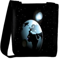 Snoogg Background With Space In Earth Designer Protective Back Case Cover For Oneplus 3 Designer Womens Carry Around Cross Body Tote Handbag Sling Bags RPC-3954-SLTOBAG