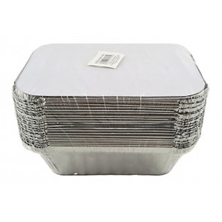 Ezee Silver Aluminium Foil Container 250 ml 25 Pieces