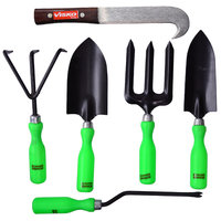 Visko 609 6 Pc Garden Tool Kit With Bill Hook
