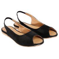 Jade Womens Stylish  Black Slip On Sandals - 97985517