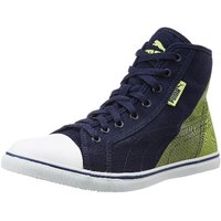Puma Streetballer Mid Geo Idp Men'S Blue Lace-Up Sneakers Shoes