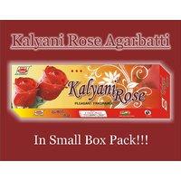 Incense Sticks Kalyani Rose Agarbatti - Small Box