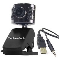 Technotech WebCam 16 MP Web Camera With Mic, IT-305WC, Web Cam, 1 Year Warranty