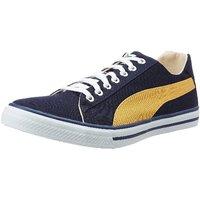 Puma Hip Hop 5 Idp Men'S Blue Lace-Up Sneakers Shoes
