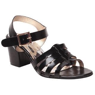Msc WomenS Black Platform Heel