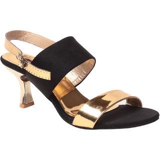 Msc Women'S Black Platform Heel