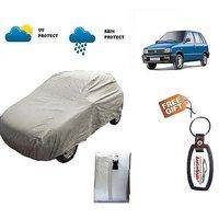 Maruti 800 Car Body Cover (Free key Chain)