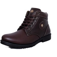 Black Tiger Men's Brown Casual Shoes