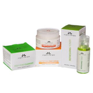 Organic Therapie Sparkling Skin Combo