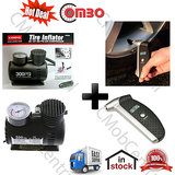 Hottest Deal Coido 6526 Tyre Air  Inflator + Coido 6071 Digital Pressure Gauge