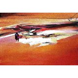 Affordable Art India Nature Abstract Canvas Art AEAT16c
