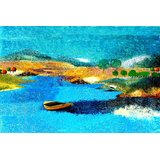 Affordable Art India Abstract Canvas Art AEAT23b