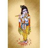Affordable Art India Canvas Art Of Lord Krishna Canvas Art AELK1c