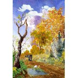 Affordable Art India Scenery Canvas Art AELS2a