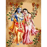 Affordable Art India Canvas Art Of Lord Krishna Canvas Painting AERK2a