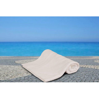 White Bliss Low Twist Bath Towel Bath Towel