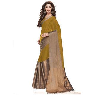 Radiant Gold Zari Silk