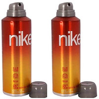 Nike 2 Ride Deodorant for Men 200ml Each (Pack of 2)