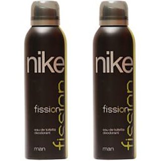 Nike Deodorants 2 Fission for Men 200ml Each (Pack of 2)