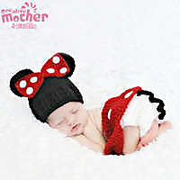 Beautiful Minnie Mouse Costume For Infants Photography