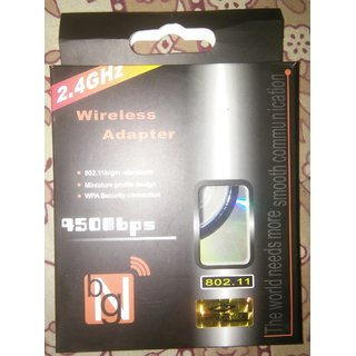 BG 450 mbps Wireless USB Adapter