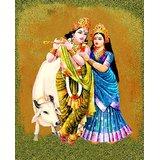 Affordable Art India Canvas Art Of Lord Krishna Canvas Art AERk3c