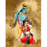 Affordable Art India Canvas Art Of Lord Krishna Canvas Art AERK6c
