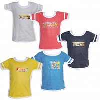 Combo of 5 Half Sleeve Tshirt for Boys