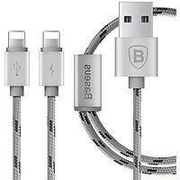 Baseus Portman Series 2-in-1 Dual-lightning USB Charging Cable For IPhone Charging Cable / USB For IPhone 5, 5s ,6,6s