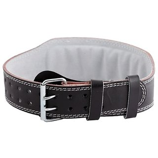 Adjustable Weight Lifting Padded Leather Belt ( SMALL )