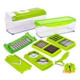 Nicer Multi Chopper Vegetable Cutter Fruit Slicer Peeler Dicer Plus