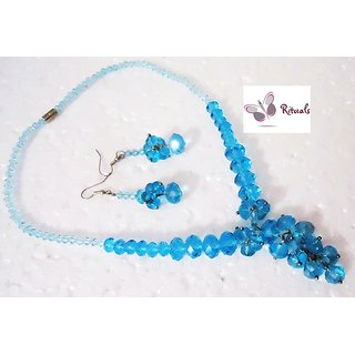 Rituals Blue Stones Necklace Set